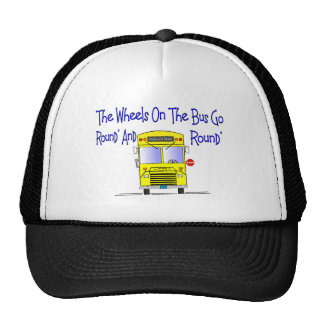 "Bus Driver ""The Wheels on the Bus"" Cap"