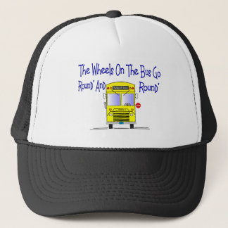 "Bus Driver ""The Wheels on the Bus"" Trucker Hat"