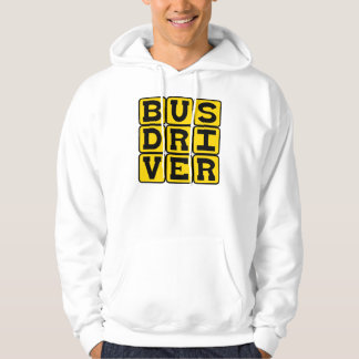 Bus Driver, Transportation Profession Hoodie