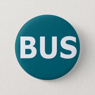 BUS logo - Blau 6 Cm Round Badge