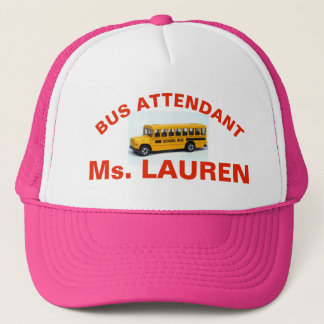 BUS MONITOR  PINK HAT