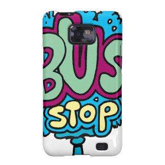 Bus Stop Bird Samsung Galaxy SII Covers