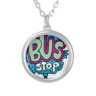 Bus Stop Bird Necklaces