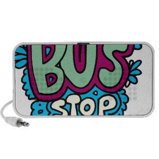 Bus Stop Bird iPod Speakers