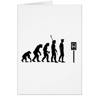 Bus Stop Evolution Card