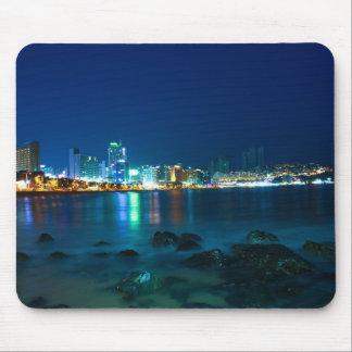 Busan Beach Mouse Pad