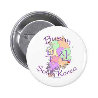 Busan South Korea 6 Cm Round Badge
