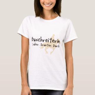 Buschreiterin T-Shirt