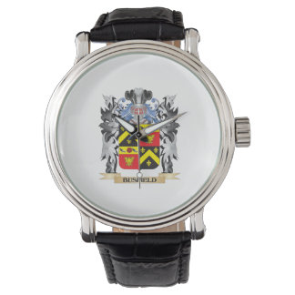 Busfield Coat of Arms - Family Crest Wristwatch