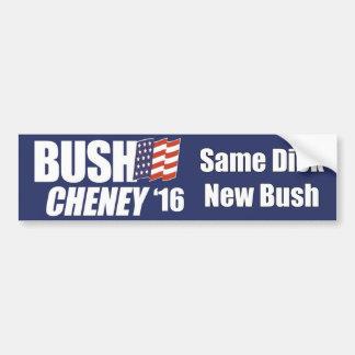 bush 2.0 bumper sticker