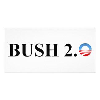 BUSH 2 0 PHOTO CARD TEMPLATE