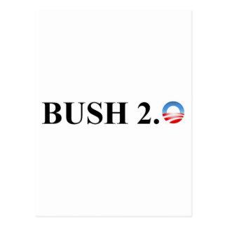 BUSH 2.0 POSTCARD