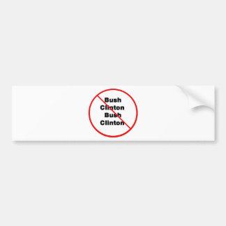 Bush Clinton Bumper Sticker