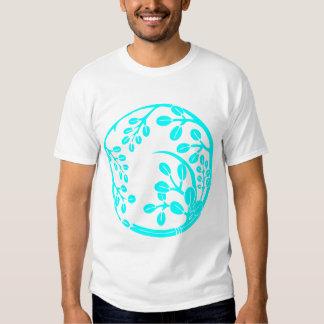 Bush clover (turquoise) shirts