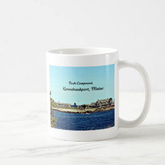 Bush Compound, Kennebunkport, Maine Basic White Mug