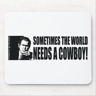 Bush Cowboy Mouse Pad