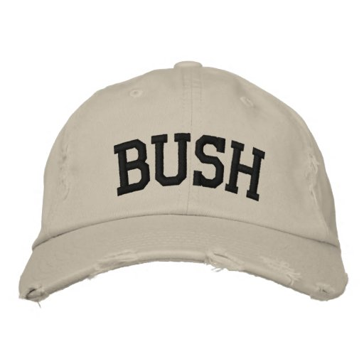 Bush Embroidered Hat Embroidered Hat