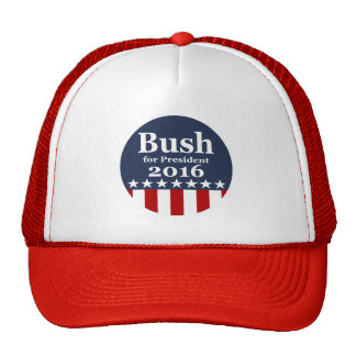 Bush for President 2016 Campaign Hats