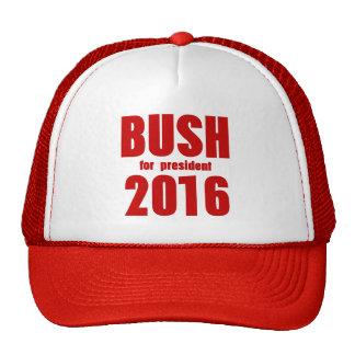 Bush For President 2016 Hats