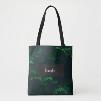 bush. Full Print Customizable Tote Bag