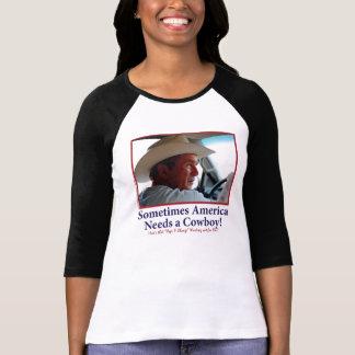 BUSH-HAT.-white-Cowboy-eps Shirt