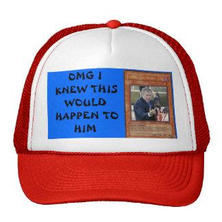 Bush in Yugioh Trucker Hats