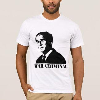 Bush is a War Criminal T-Shirt