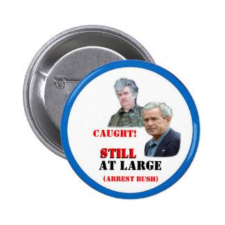 Bush / Karadzic Button