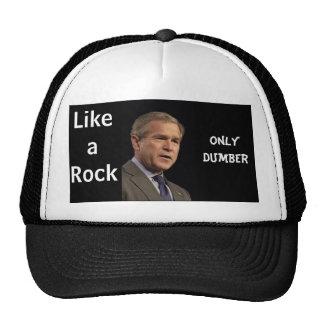Bush Like a Rock Only Dumber Mesh Hat