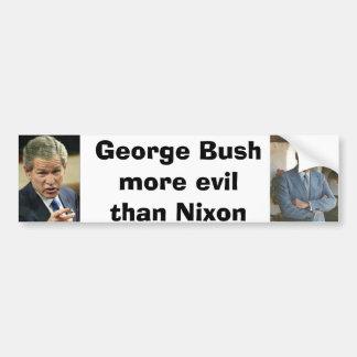 bush/nixon bumper sticker