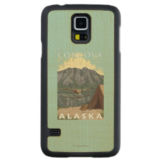 Bush Plane & Fishing - Cordova, Alaska Maple Galaxy S5 Case