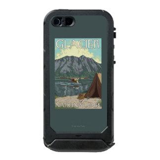 Bush Plane & Fishing - Glacier National Park, MT Incipio ATLAS ID™ iPhone 5 Case