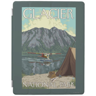 Bush Plane & Fishing - Glacier National Park, MT iPad Cover