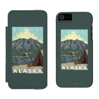 Bush Plane & Fishing - Katmai, Alaska Incipio Watson™ iPhone 5 Wallet Case