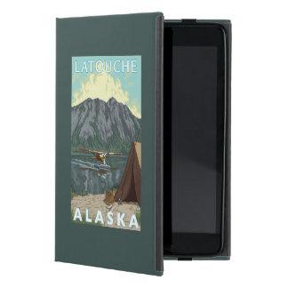 Bush Plane & Fishing - Latouche, Alaska Cover For iPad Mini