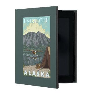 Bush Plane & Fishing - Latouche, Alaska iPad Case