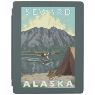 Bush Plane & Fishing - Seward, Alaska iPad Cover