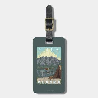Bush Plane & Fishing - Sitka, Alaska Luggage Tag