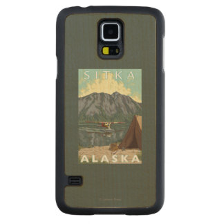 Bush Plane & Fishing - Sitka, Alaska Maple Galaxy S5 Case