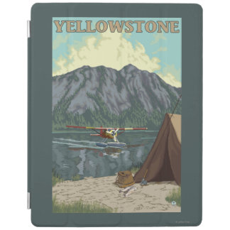 Bush Plane & Fishing - Yellowstone National iPad Cover
