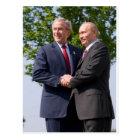 Bush & Putin Postcard