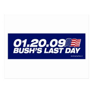 Bush s Last Day Postcard