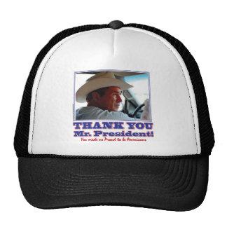 Bush-Thank-You-American Cap