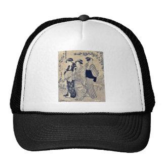 Bushclover by Katsukawa, Shuncho, Ukiyoe Trucker Hat