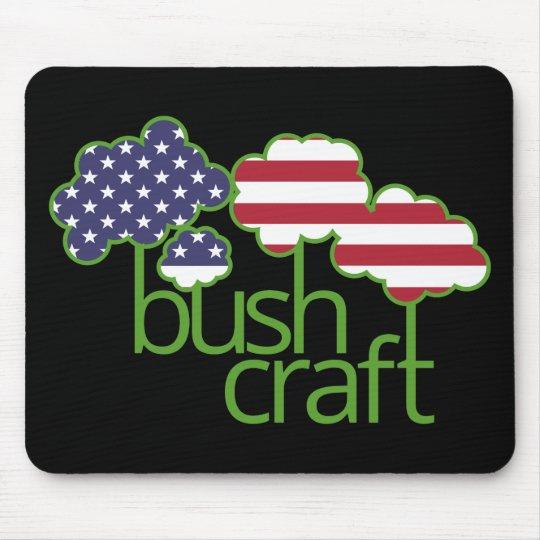 Bushcraft USA flag Mouse Mat