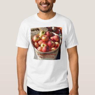 Bushel Basket Of Apples, An Apple A Day Keeps T... T-shirt