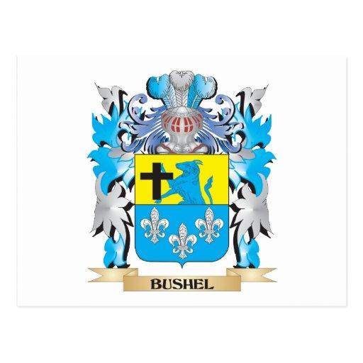 Bushel Coat of Arms Postcards