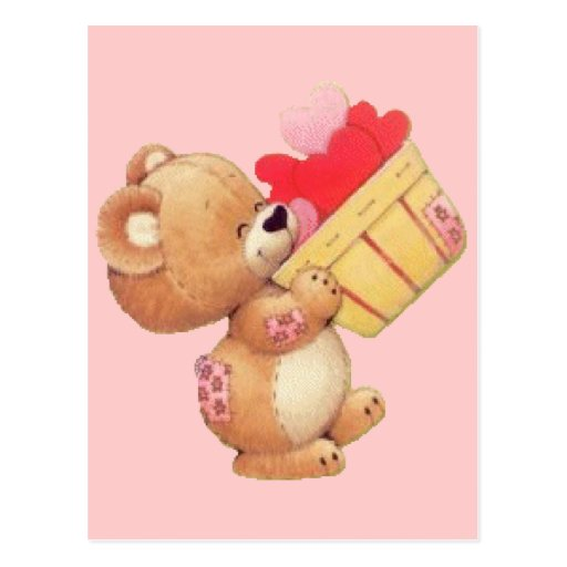 Bushel of Hearts Post Card