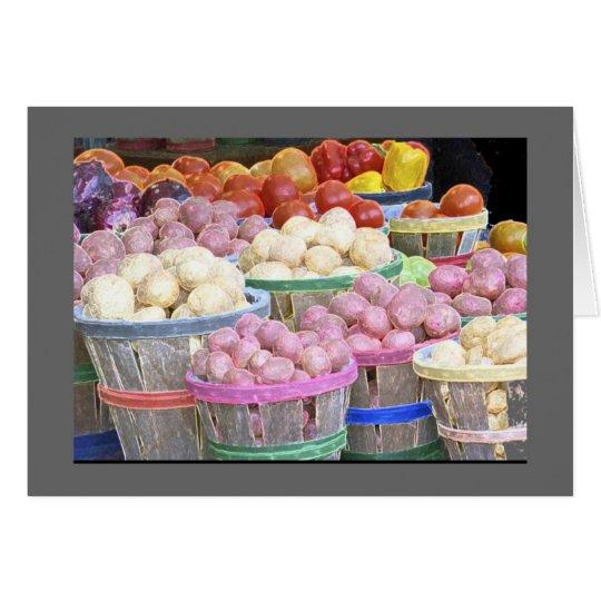 Bushels of Potatoes at the Jean Talon Market
