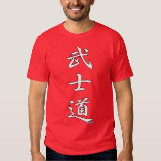 BUSHIDO KANJI white:PRAY FOR JAPAN reconstruction Tee Shirts